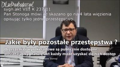 Zbigniew Stonoga agentem WSI?