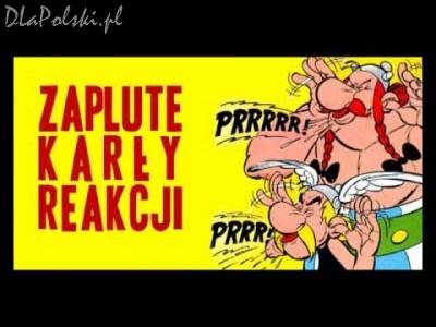 Asterix – zapluty karzeł reakcji