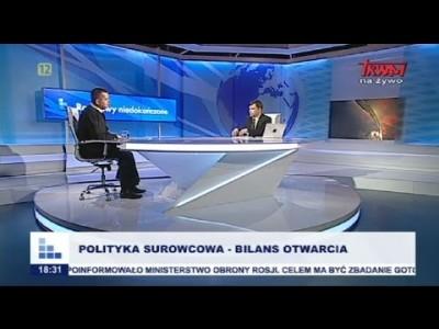 Polityka surowcowa – bilans otwarcia